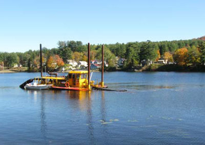 Lake Algonquin Dredging Feasibility Study, Environmental and Invasive Species Monitoring, and Streambank Restoration