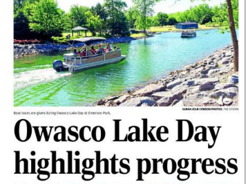 Liz Moran kicks off Owasco Lake Day with watershed presentation