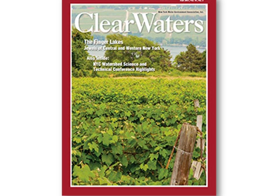 Liz Moran publishes on the Cayuga Lake Modeling Project in ClearWaters